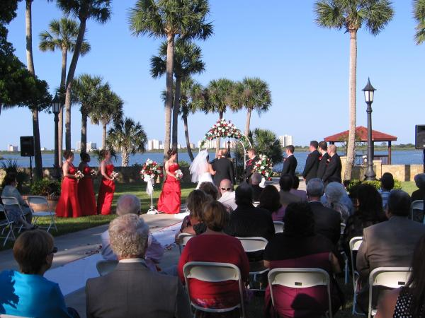 We can provide Outdoor Ceremony Music if needed.