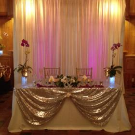 Our Lighting will enhance your backdrop.