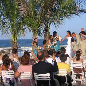 We can provide Ceremony Music on the Deck.